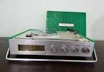 Toca discos portáteis anos 60s 70 e 80'