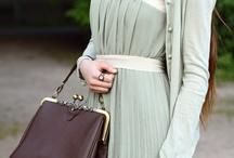 My style / A feminine-vintage inspired wardrobe.