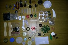 Mini Tutes Recycling / Recycling various found and household items for making miniatures