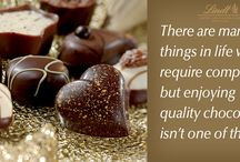 Chocolate Wisdom / With chocolate, there is truth.