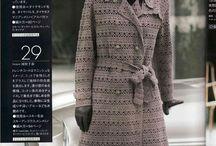 Crochet - manteaux