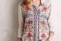 Tunic and blouse