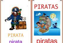 A) tema piratas / by Katterina Verastegui