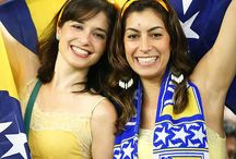 Bosnian Fans Girls