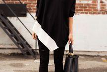 Black Outfits MU / by Nicole Dupre