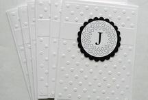 cards - monogram
