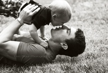 Father & Son / Photos of Dads with their little men