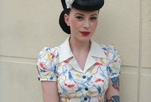 Pin-up clothes
