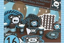Rock Star Boy Baby Shower / Cute Ideas for a Rock Star Baby Shower.  We put this board together to help you coordinate the coolest rock star baby shower for boy.  These are some rockin ideas that all your guests will love! / by Modern Baby Shower Ideas