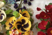 Obrazy z kwiatów