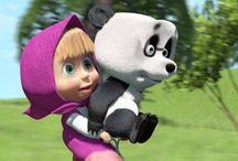 Masa and Bear