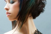 Hair / Cuts, colours and rainbows to try
