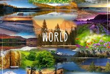 Bionoxo World / Sun. Air. Water. Earth. #World with the beauty of nature...