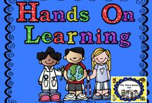 Hands On Learning: We Learn Best by Doing! / This is a collaborative board for sharing ideas about how to incorporate more hands on learning into our classrooms. Please pin 2 ideas or free products for every 1 paid product. I am no longer accepting new collaborators for this board.