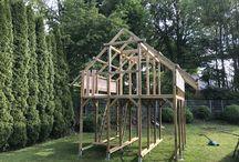Spielhaus mit 2 Etagen / Für die Kids
