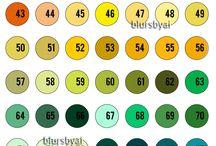 Color Combinations | Color Charts