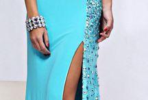 Платье цвета моря