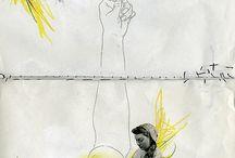 visual thinking art journals