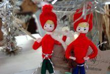 Vintage Christmas / Wonderful vintage Christmas ornaments and decorations.