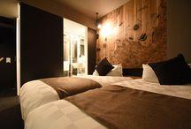 hotel risveglio akasaka / #total planing #direction #interior design