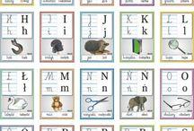 Alfabet, pisanie