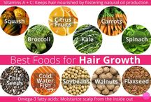 ** Top 10 Foods for Healthy Hair ** / Eat these foods to prevent hair loss #hair #hairloss #hairgrowth #haircare  #like #food #vegetable #healthy