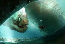 Morskie stwory