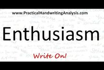 Personality from Handwriting / How to understand people better: Videos on how to identify personality traits from handwriting. Change your handwriting, change your life: how to be who you want to be.