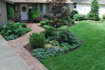 Our Work:  Front Yard Landscapes / Front Yard Residential Gardens