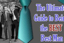 """The Ultimate Guide to Being the Best Best Man / Being a best man is a once in a lifetime opportunity that a lot of people don't get to experience. So, if you want to be the best """"best man"""" possible, there are a few things you'll need to remember.  http://www.kimberleyandkev.com/ultimate-guide-best-best-man/"""