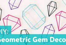 CRAFT DIY: Geometric