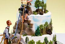 climbing cakes