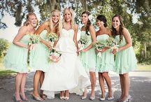 Bridesmaid colours and Ideas