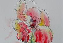 Aquarell Flowers