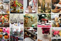 Holiday Party Ideas / The winter season is coming up and here are a few party must-haves!