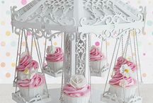 Stand para cup cakes