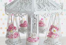 Stands para cupcakes / Los Stands más bonitos para cupcakes y dulces