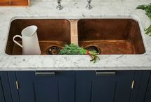 Kitchen Double Sinks / Looking for something with a little extra practicality whilst still keeping the va va voom!! What about a stylish kitchen double sink.