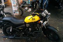 Royal Enfield Motorcycle Customization
