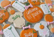 Halloween baby shower