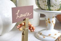 Place Cards / Dining Place Cards