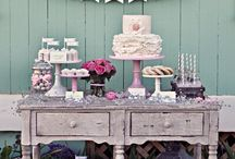 Wedding ♡ Sweet Tables / Wedding Sweet Tables & wedding inspiration