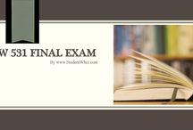 LAW 531 Final Exam