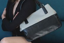 Sarah Bicolor by Petusco / #Leather #handbags