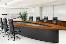 Office Conference Tables / Make your meetings comfortable with a variety of Conference Tables available in Round, Oval & Rectangle Formats.