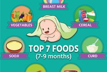 Baby Food / Wonder what to give to your little ones when you start feeding them on solids?  We bring to you food for your kids, you can start with. #baby #food #solids #parenting #newmom