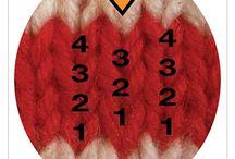 Yarn / knitting, crochet, diy, patterns, tips, tricks, tutorials