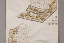 Uncut waistcoats 18th century