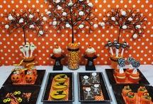 Mesas dulces Haloween