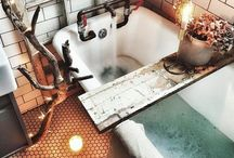 Ethereal bathrooms